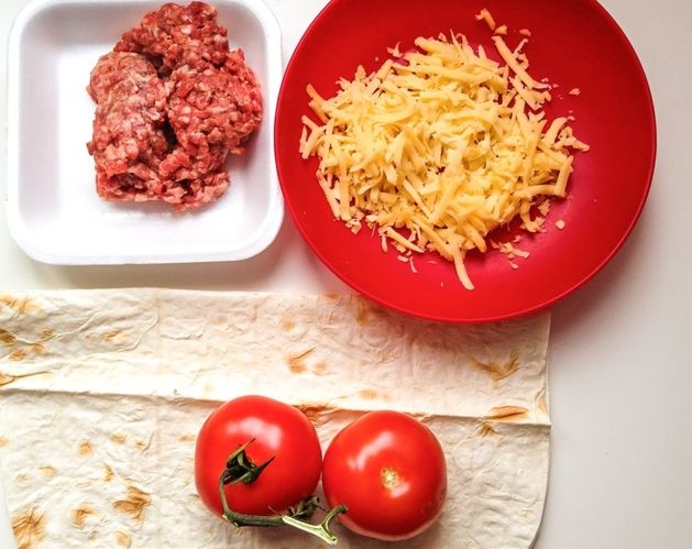 Кесадилья мясная