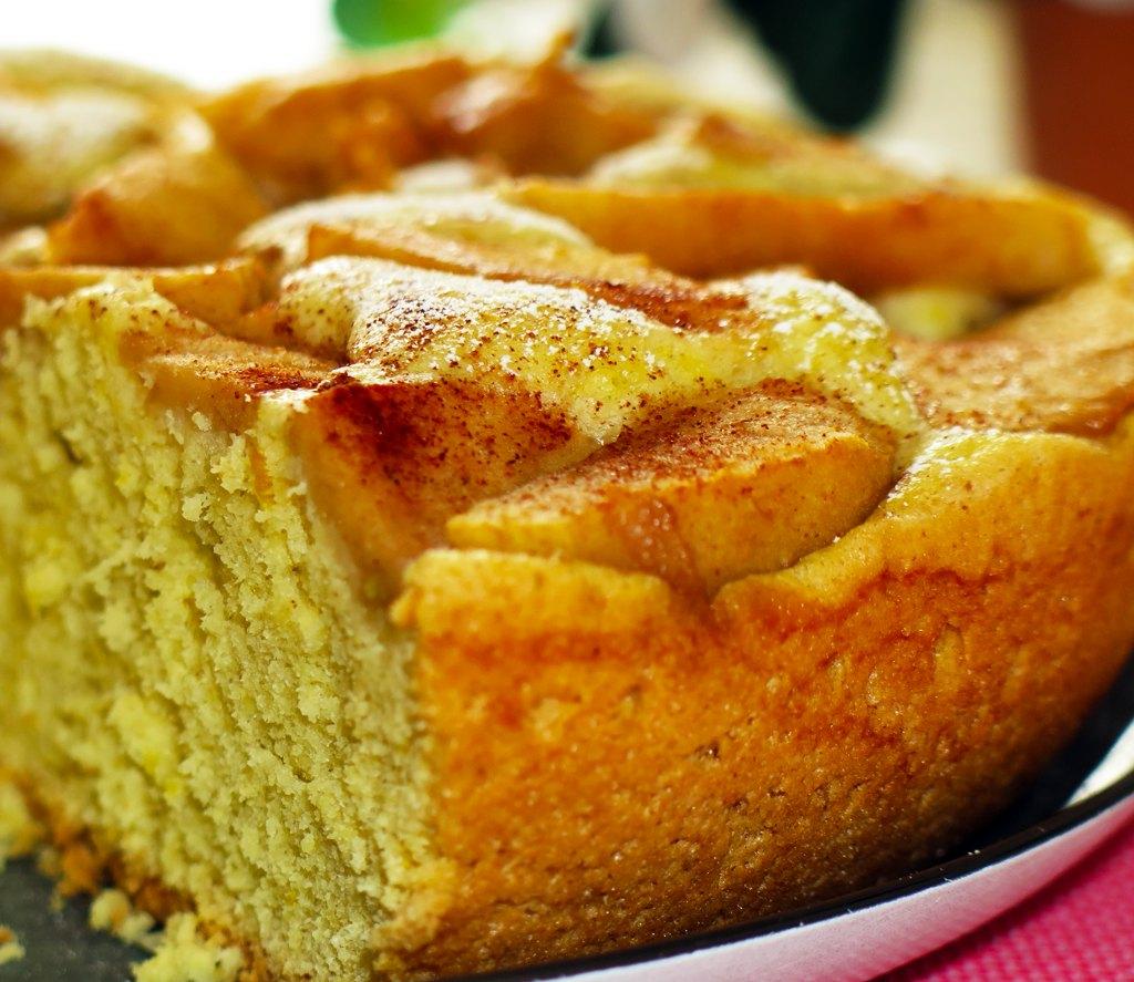 фото и рецепт шарлотки с яблоками