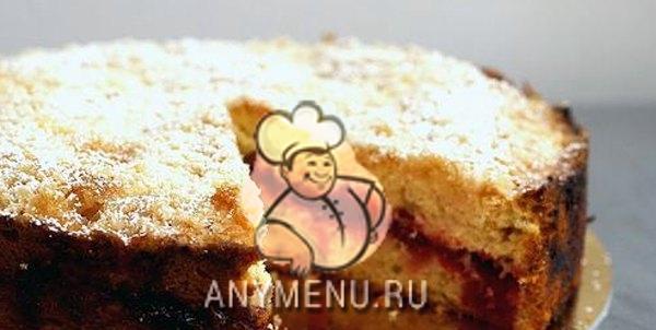 vanilnii_pirog_s_klukvoi