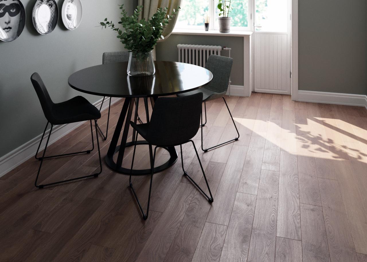 Какие новые напольные покрытия появились для обустройства кухни и кухонной зоны?