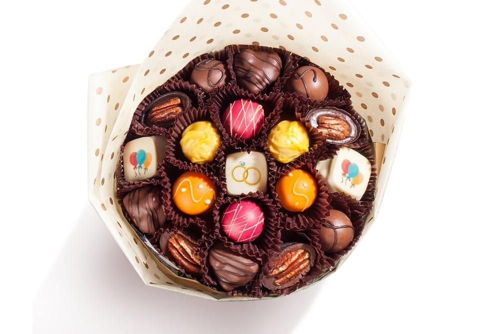 Букет из конфет - делаем своими руками