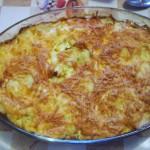 Горячий французский салат