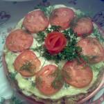 Торт кабачковый с сыром