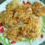 Котлетки из картофеля и свинины