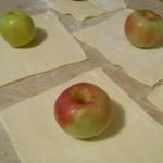 Яблоки в слоенном тесте