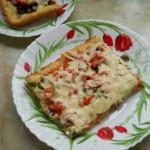 Открытый пирог-пицца