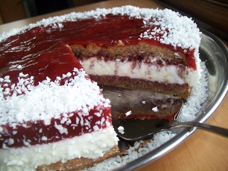 Творожно йогуртовый торт рецепт с фото
