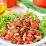 Салат из фасоли