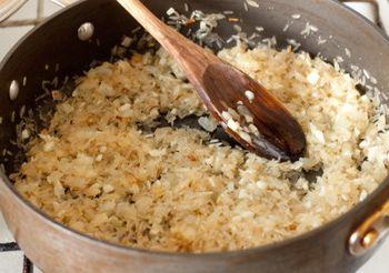 Рис с чесноком и черным кунжутом2