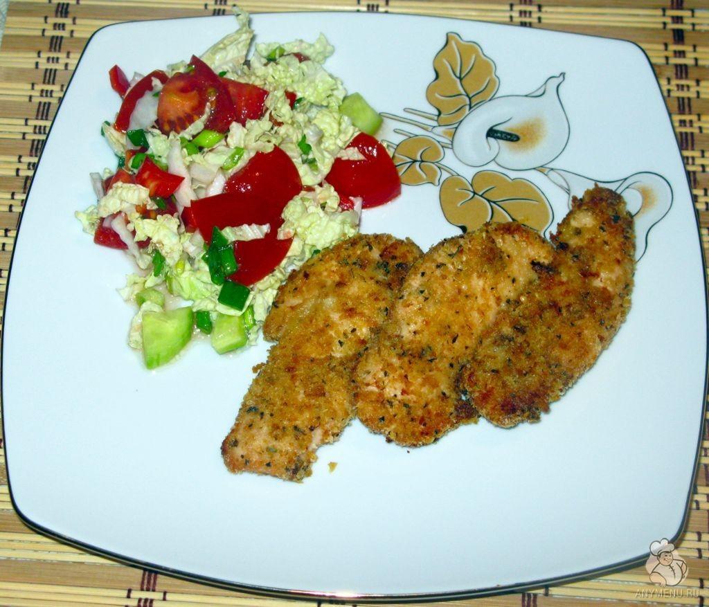Куриное филе в чесночной панировке (1)