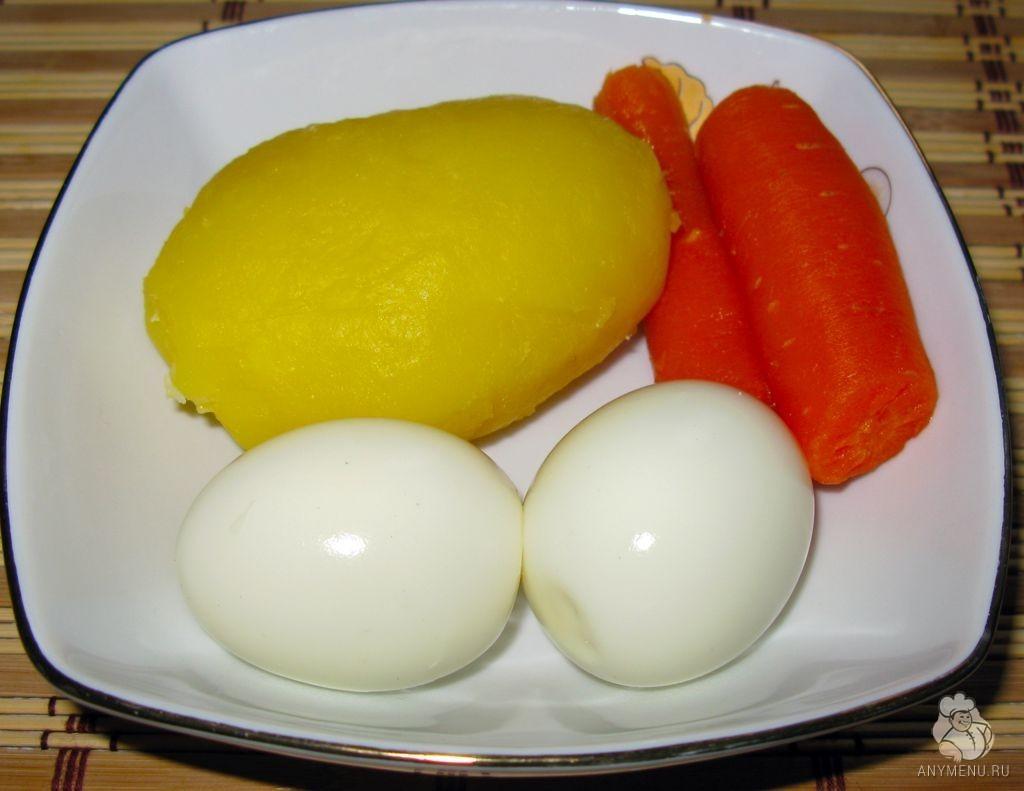 Салат Оливье с курицей (5)