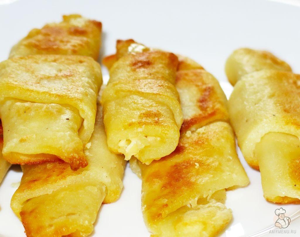 Картофельные рогалики с сыром (5)