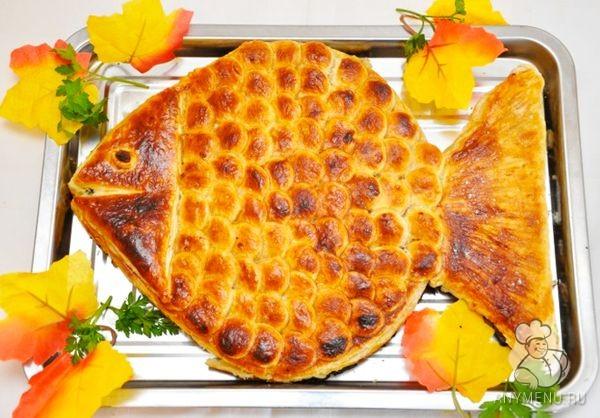 Пирог Золотая рыбка