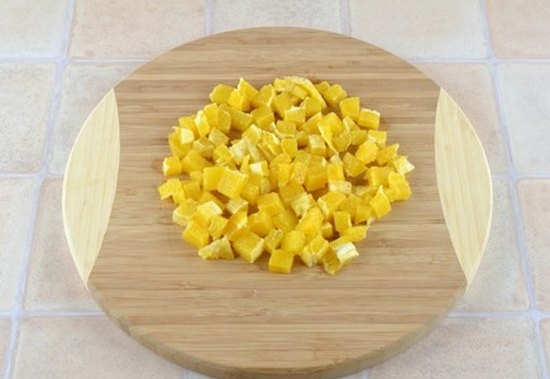Фруктовый салат с орехами2