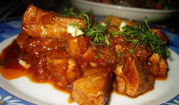 Жаркое из свинины (4)