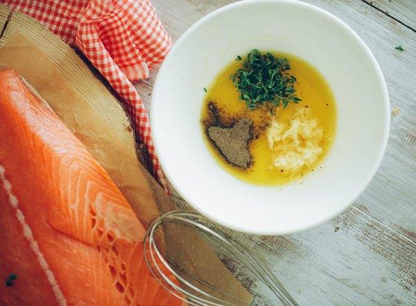 Медовый лосось в фольге 1