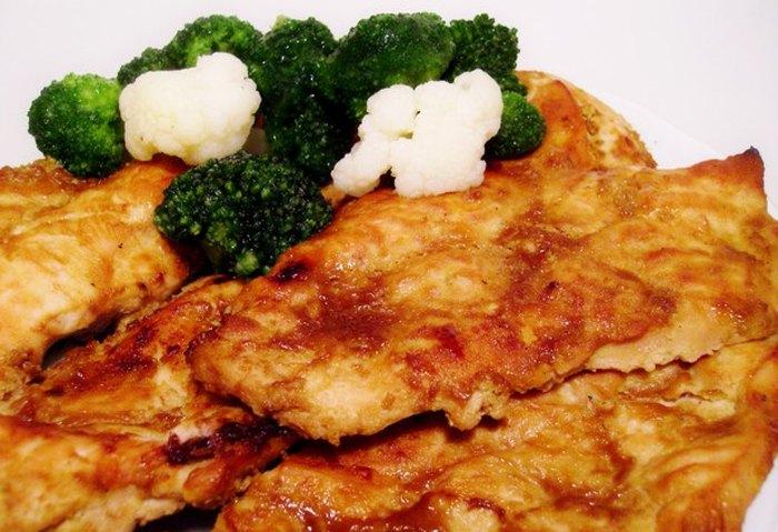 Нежнейшее куриное филе запеченное в духовке