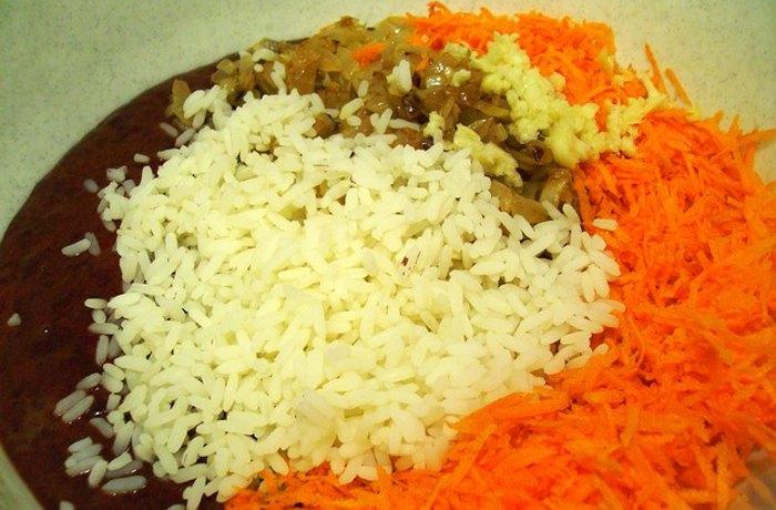 Печеночная запеканка с рисом4