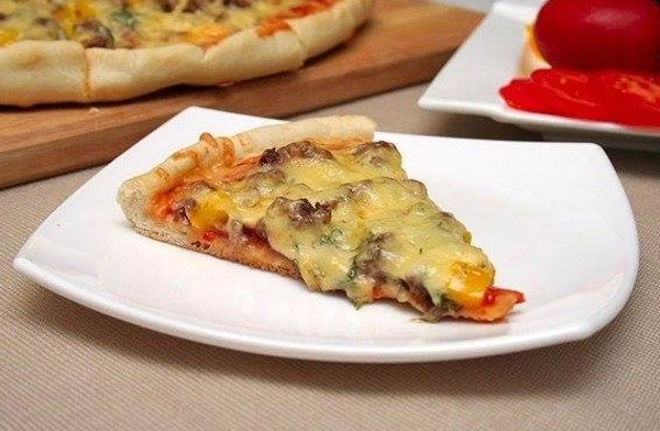 Пицца с фаршем по домашнему
