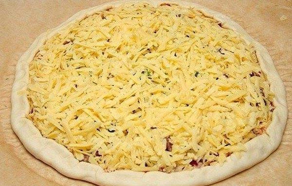Пицца с фаршем по домашнему4