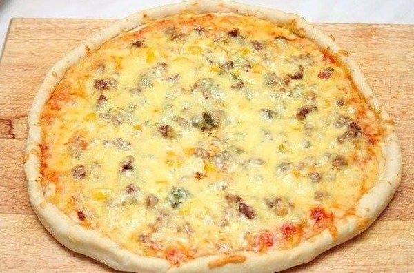 Пицца с фаршем по домашнему5