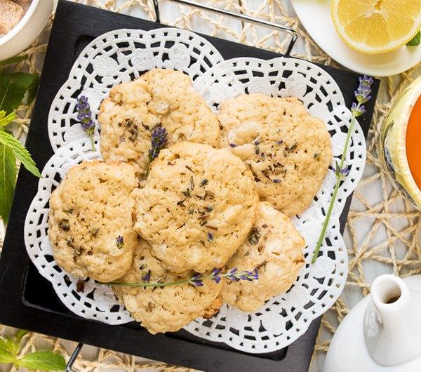 Лавандовое печенье с белым шоколадом5