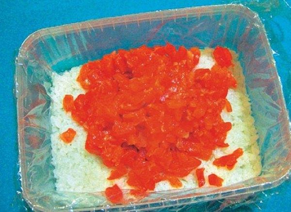 Красная рыба под шубой салат