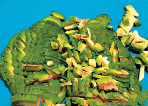 Красная рыба под шубой салат3