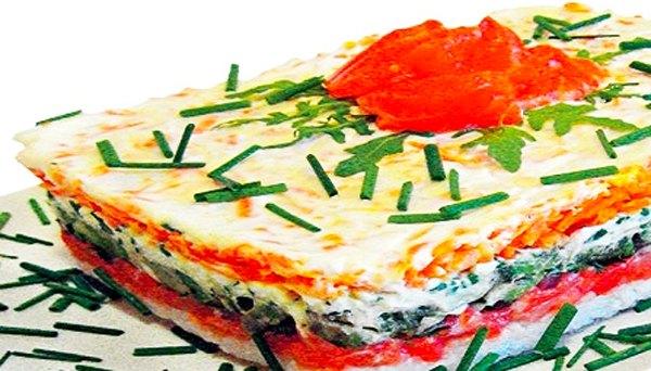 Красная рыба под шубой салат8