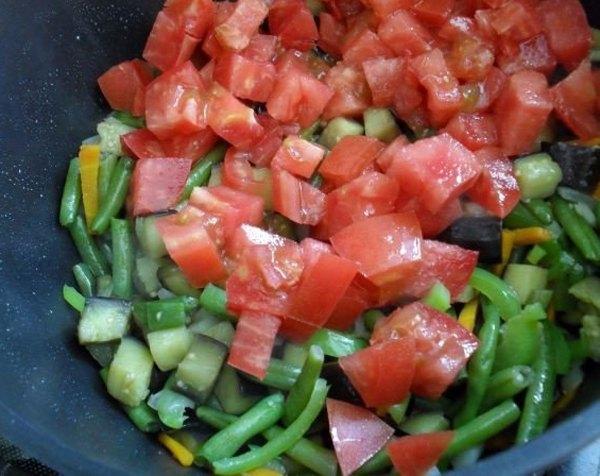 Овощное рагу с баклажанами2