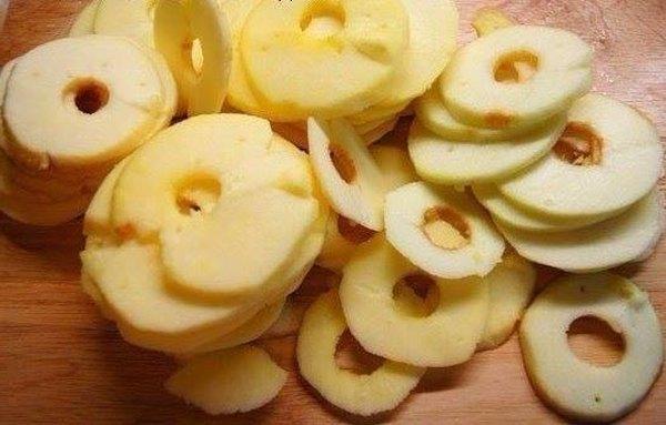 Творожно яблочный пирог6