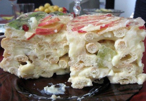 Торт тропиканка с заварным тестом 2