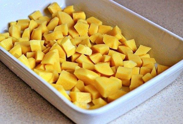 Печеный картофель с пармезаном1