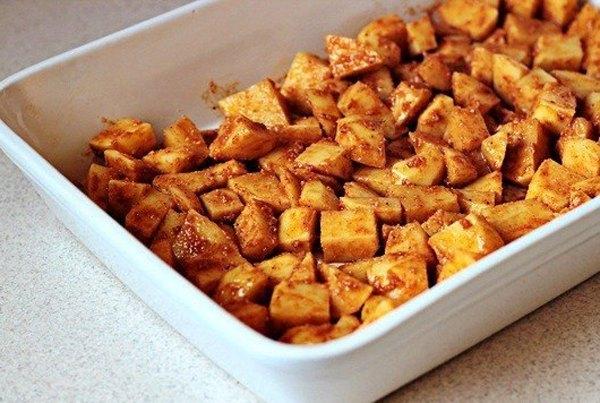 Печеный картофель с пармезаном3