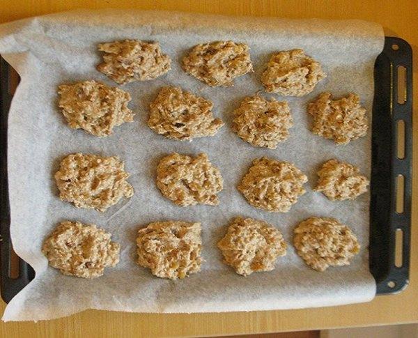 Овсяное печенье без масла5