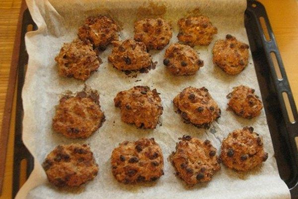 Овсяное печенье без масла6