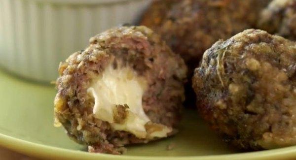 Мясные шарики с сыром4