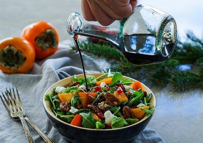 Салат с хурмой (2)