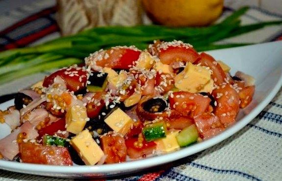 Салат корейская морковь курица шампиньоны