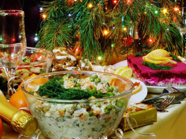 Как не растолстеть в новогодние праздники
