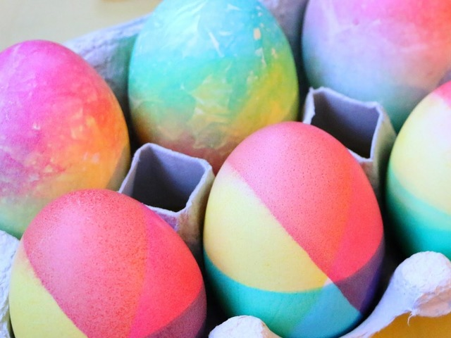 5 способов украсить яйца к Пасхе
