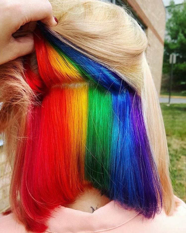 Креативное окрашивание волос - время быть оригинальной